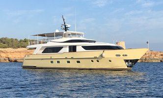 Nakessa yacht charter Sanlorenzo Motor Yacht