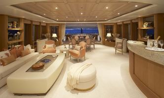 Callisto yacht charter Feadship Motor Yacht