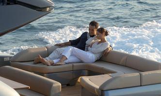Lady F1 yacht charter Riva Motor Yacht