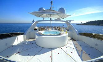 Aura yacht charter Benetti Motor Yacht