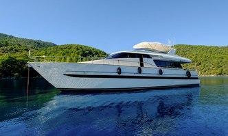 Barbarossa Moratti yacht charter Sanlorenzo Motor Yacht