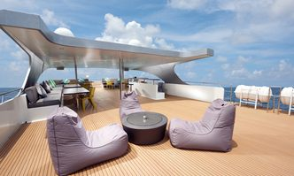 Gaia Love yacht charter Custom Motor Yacht