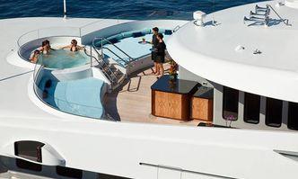 Trident yacht charter Feadship Motor Yacht