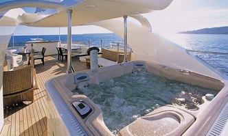 Ledra yacht charter ISA Motor Yacht