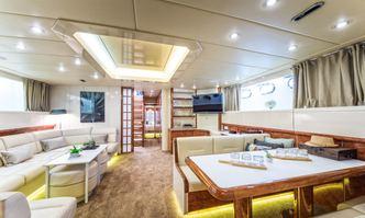 Speedy T yacht charter Overmarine Motor Yacht