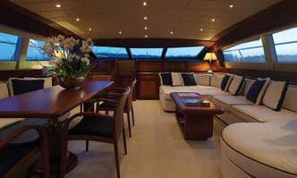 Allure yacht charter Overmarine Motor Yacht