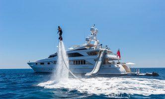 Air yacht charter Benetti Motor Yacht