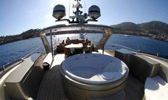 Hooligan II yacht charter ISA Motor Yacht