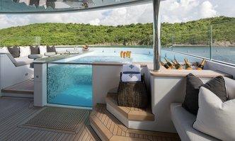 Muchos Mas yacht charter Crescent  Yachts Motor Yacht