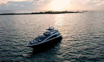 The Cabana yacht charter Sunseeker Motor Yacht