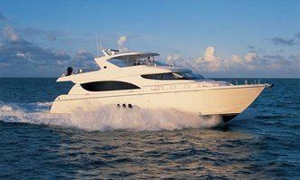 Knot Tide II yacht charter Hatteras Motor Yacht