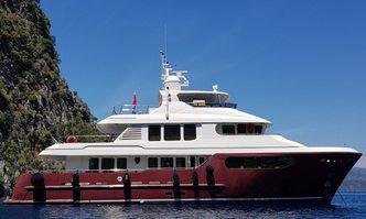 Bandido yacht charter Jade Yachts Motor Yacht