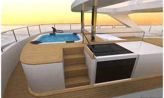 Scorpion yacht charter Sanlorenzo Motor Yacht
