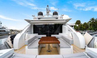 Sky Fall yacht charter Sunseeker Motor Yacht