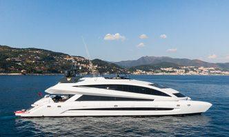 Royal Falcon One yacht charter Kockums Motor Yacht