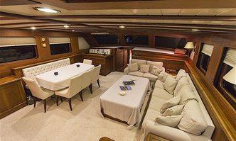 Mia I yacht charter Custom Sail Yacht