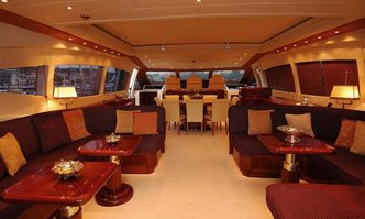 Shellona yacht charter Overmarine Motor Yacht