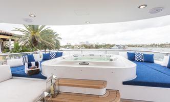 Tanzanite yacht charter Westship Motor Yacht