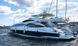 Yansika yacht charter Sunseeker Motor Yacht