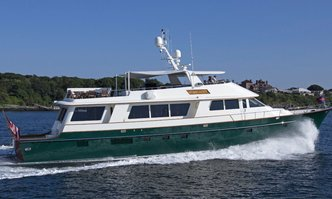 Starlight yacht charter Derecktor Shipyards Motor Yacht