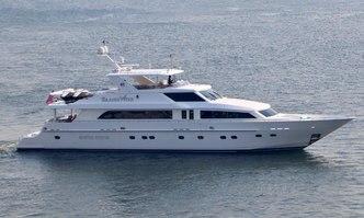 Brandi Wine yacht charter Hargrave Motor Yacht