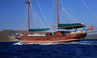Galip Nur yacht charter Custom Sail Yacht