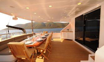 Gulmaria yacht charter Bodrum Shipyard Motor/Sailer Yacht