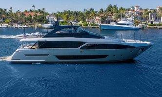 Hanna yacht charter Riva Motor Yacht