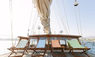 Sir Winston Churchill yacht charter Dunston Shipyard Sail Yacht