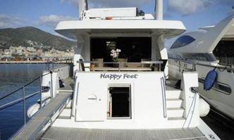 Happy Feet yacht charter Alalunga Motor Yacht