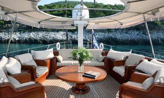 Gitana yacht charter Perini Navi Sail Yacht