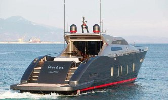 Vevekos yacht charter Tecnomar Motor Yacht