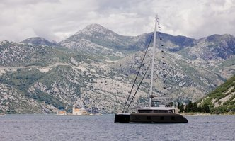 Gyrfalcon yacht charter Sunreef Yachts Sail Yacht