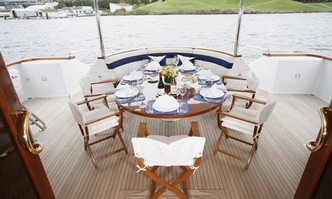 Skyetyme yacht charter Christensen Motor Yacht