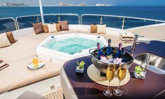 Iman yacht charter Sunseeker Motor Yacht