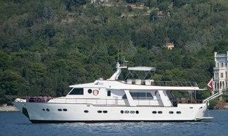 Surubim yacht charter CRN Motor Yacht