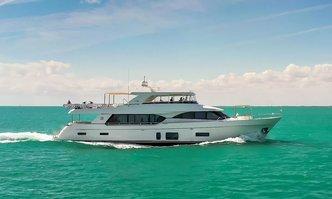 Entrepreneur yacht charter Ocean Alexander Motor Yacht