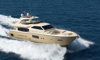 Tilusa yacht charter Ferretti Yachts Motor Yacht