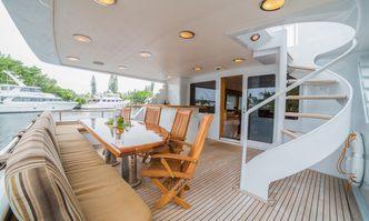 Lady Lex yacht charter Broward Motor Yacht