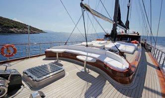Kaya Guneri IV yacht charter Bodrum Shipyard Motor/Sailer Yacht