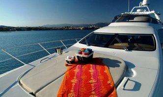 Azucena Mare yacht charter Azimut Motor Yacht