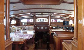 Shamoun yacht charter Jachtwerf Klaassen Sail Yacht