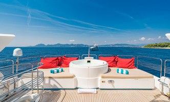 Excelerate Z yacht charter Sunseeker Motor Yacht
