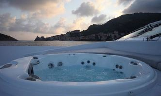 Aurora yacht charter Tecnomar Motor Yacht