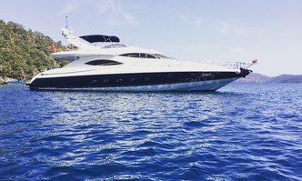 Vogue yacht charter Sunseeker Motor Yacht