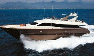 Alrisha yacht charter Tecnomar Motor Yacht