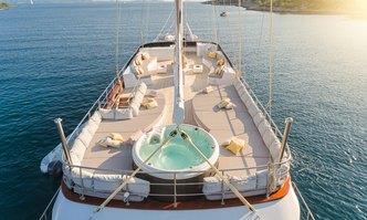 Lady Gita yacht charter Custom Sail Yacht