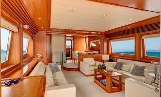 Aimilia yacht charter Spertini Alalunga Motor Yacht