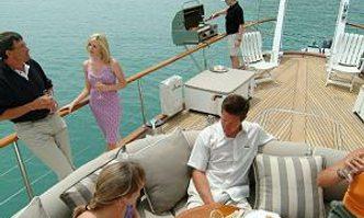 Yonder Star yacht charter Thackwray Sail Yacht