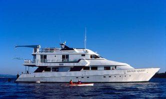 Safari Quest yacht charter Shear Yachts Motor Yacht